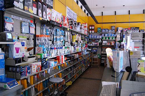 punto vendita negozio interno 1